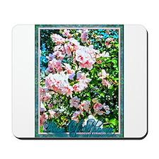 Rose of Sharon Hibiscus Mousepad