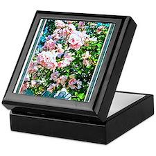 Rose of Sharon Hibiscus Keepsake Box