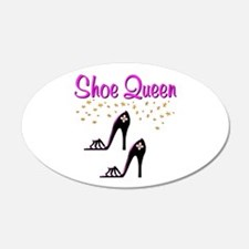 PURPLE SHOES Wall Decal