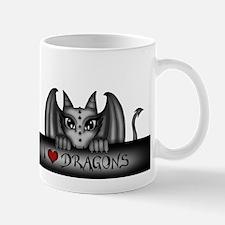 i love dragons Tasse