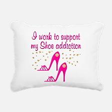 SHOE CHICK Rectangular Canvas Pillow