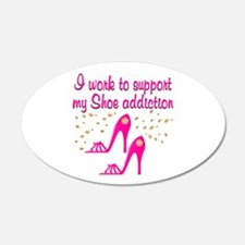 SHOE CHICK Wall Decal