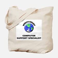World's Coolest Computer Support Specialist Tote B