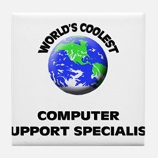 World's Coolest Computer Support Specialist Tile C