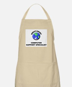 World's Coolest Computer Support Specialist Apron