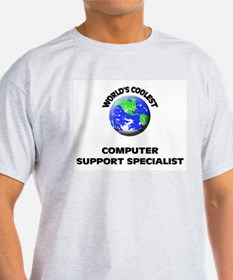 World's Coolest Computer Support Specialist T-Shir