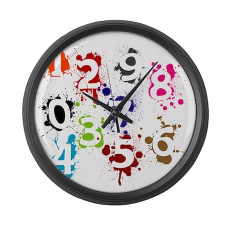 Number Large Wall Clock By Nemoreodi45