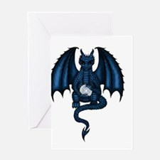 Magic Dragon Greeting Card