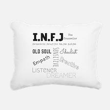 INFJ Rectangular Canvas Pillow