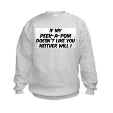 If my Peek-A-Pom Sweatshirt