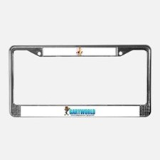 Unique Claymation License Plate Frame