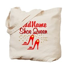 WILD RED SHOES Tote Bag