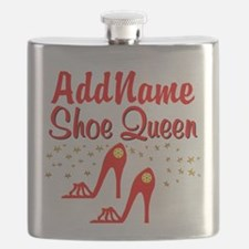WILD RED SHOES Flask