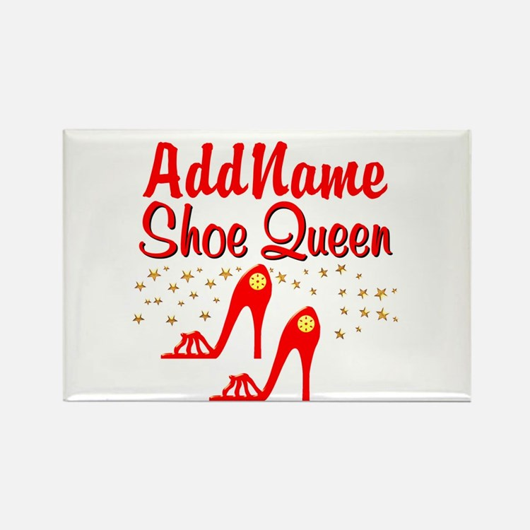 WILD RED SHOES Rectangle Magnet