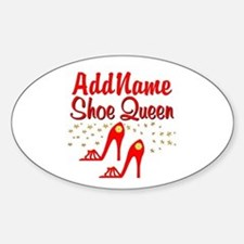 WILD RED SHOES Decal