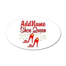 WILD RED SHOES Wall Decal