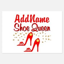 WILD RED SHOES Invitations