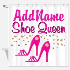 SEXY PINK SHOES Shower Curtain