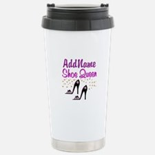 FUN PURPLE SHOES Thermos Mug