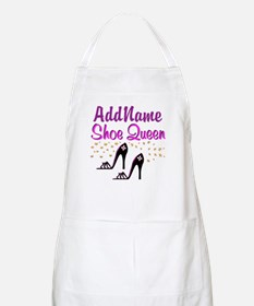 FUN PURPLE SHOES Apron