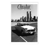 Checker Postcards (Package of 8)