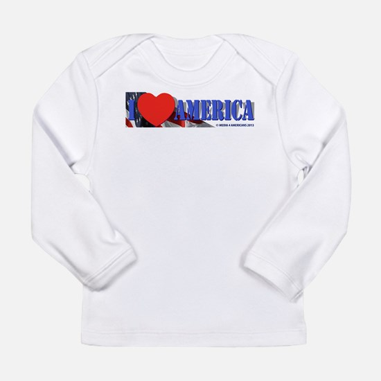 I Love America Long Sleeve T-Shirt