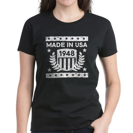 Made In USA 1948 Women's Dark T-Shirt
