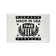 Made In USA 1948 Rectangle Magnet