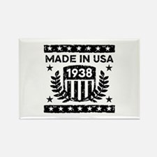 Made In USA 1938 Rectangle Magnet