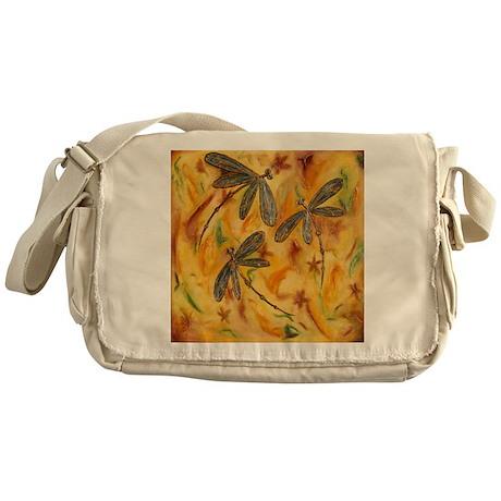 Dragonfly Flit Warm Breeze Messenger Bag