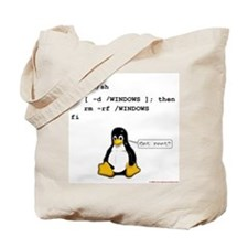 rm -rf windows Tote Bag