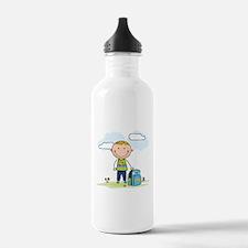 Back to school Boy Water Bottle