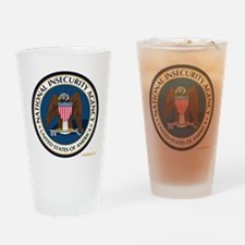 National Insecurity Agency Drinking Glass