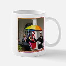 Obama Calls In Marines 4 A Light Drizzle Mug
