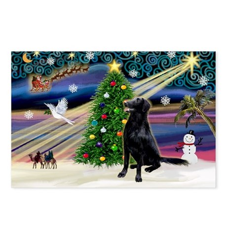 Xmas Magic & FCR Postcards (Package of 8)