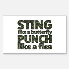 Sting like a butterfly Decal