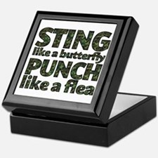 Sting like a butterfly Keepsake Box