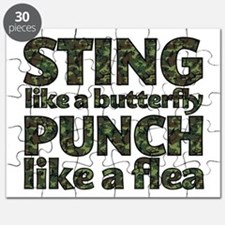 Sting like a butterfly Puzzle