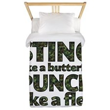 Sting like a butterfly Twin Duvet