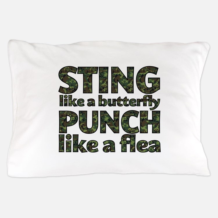 Sting like a butterfly Pillow Case