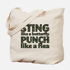 Sting like a butterfly Tote Bag