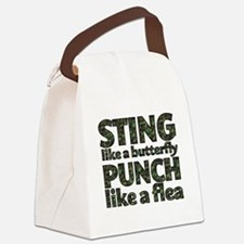Sting like a butterfly Canvas Lunch Bag