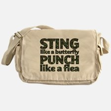 Sting like a butterfly Messenger Bag