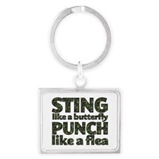Sting like a butterfly Keychains