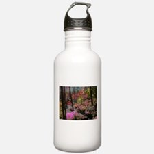 Pink Poodle Paradise Water Bottle