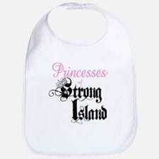 The Princess of Strong Island Bib