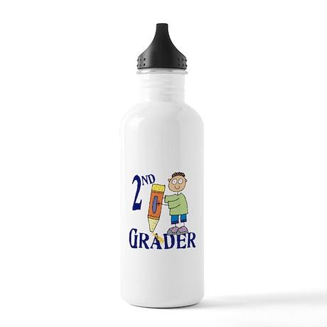 2nd Grade Boy Stainless Water Bottle 1.0L