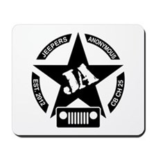 Jeepers Anonymous Mousepad