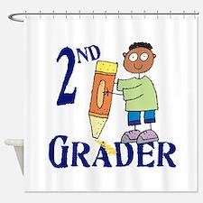 2nd Grade Boy Shower Curtain