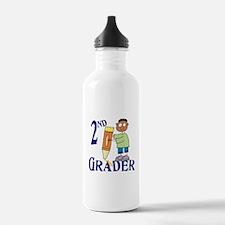 2nd Grade Boy Sports Water Bottle